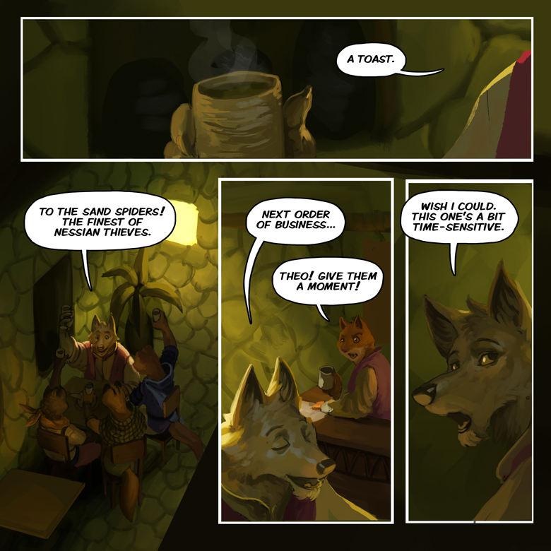 Song of the Eastern Sands: Page 16