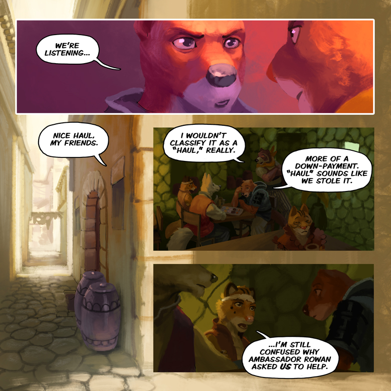 Song of the Eastern Sands: Page 39