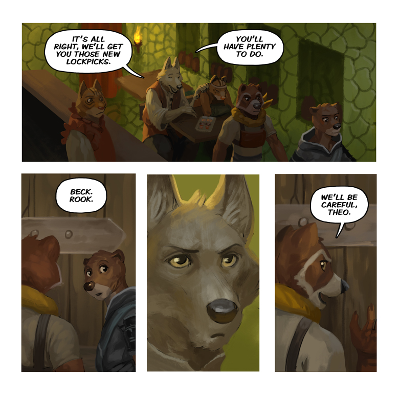 Song of the Eastern Sands: Page 43