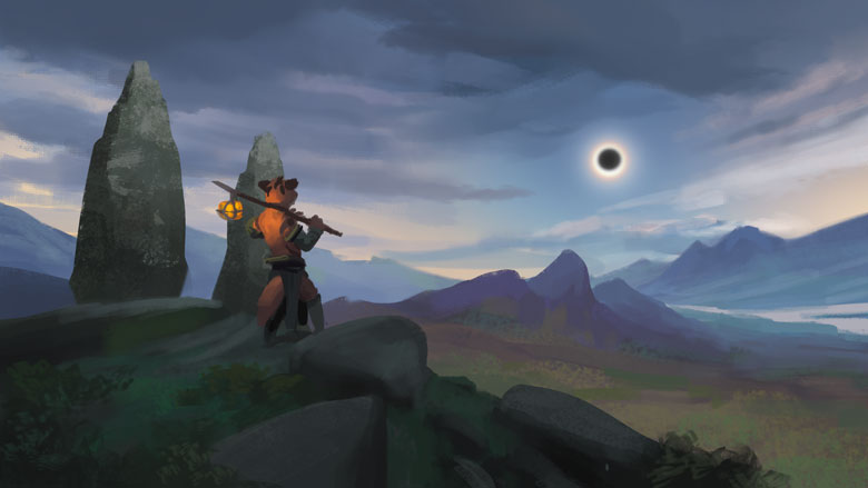 The Great Dunian Eclipse!