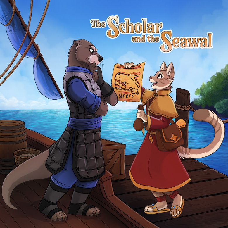The Scholar and the Seawal: Title