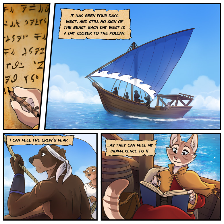 The Scholar and the Seawal: Page 1