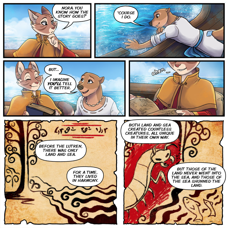 The Scholar and the Seawal: Page 3