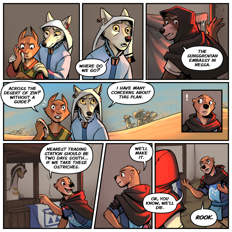 Chapter 3 Page 75 Beyond The Western Deep